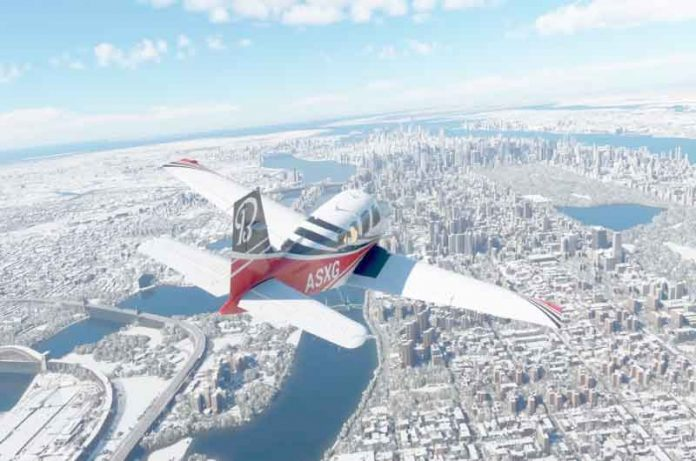 Microsoft Flight Simulator hace que EU sea más detallado