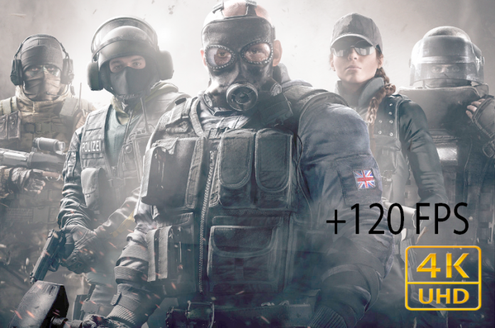 Rainbow Six Siege en 4K 120 FPS la Next Gen