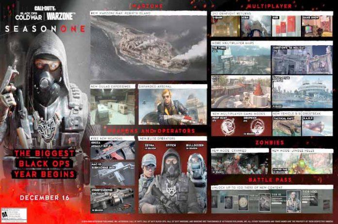Black Ops Cold War, nuevos detalles de la season 1