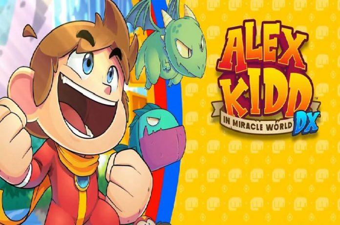 Alex Kidd in Miracle World DX llegará a Steam en Junio