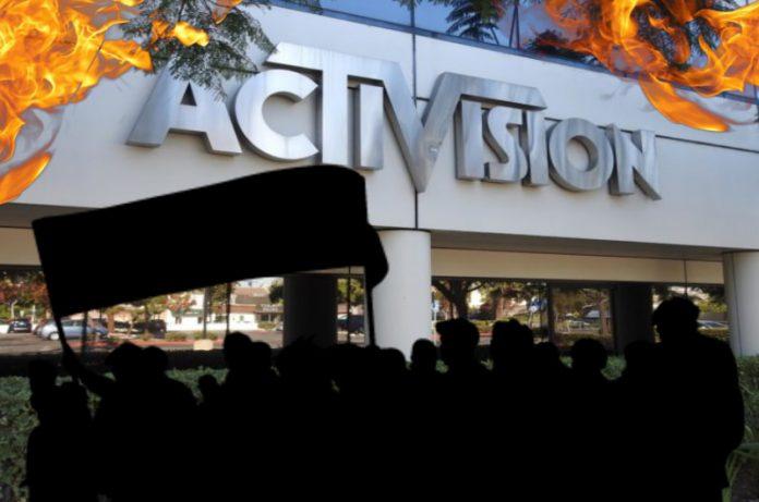 Empleados de Blizzard en planes para una huelga