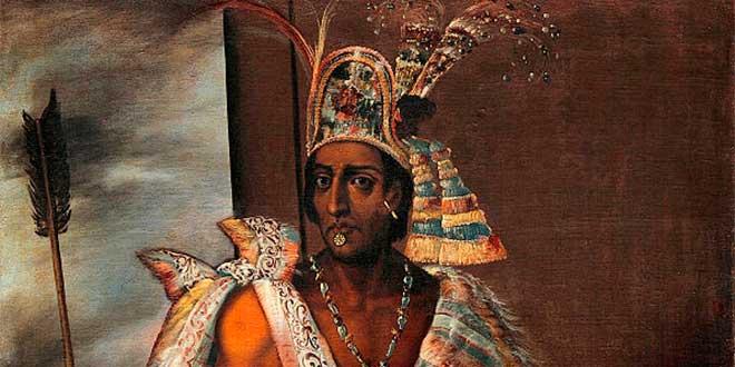 Emperador del Imperio Azteca Moctezuma II