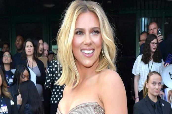Scarlett Johansson ya está en el set para su próxima película