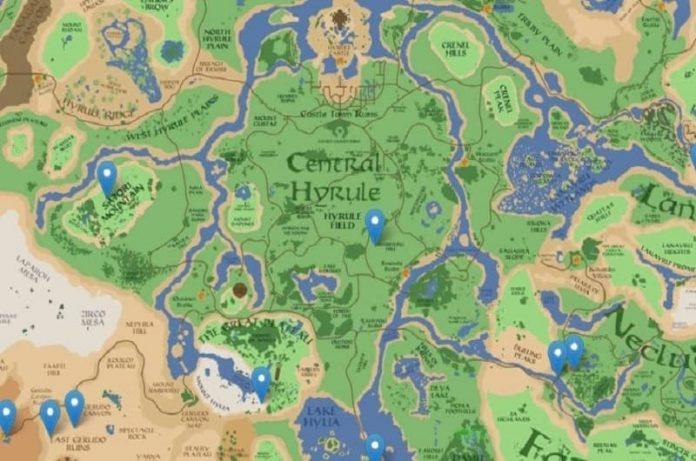 Zelda Breath of the Wild, fan crea propio Google Maps pero para el juego