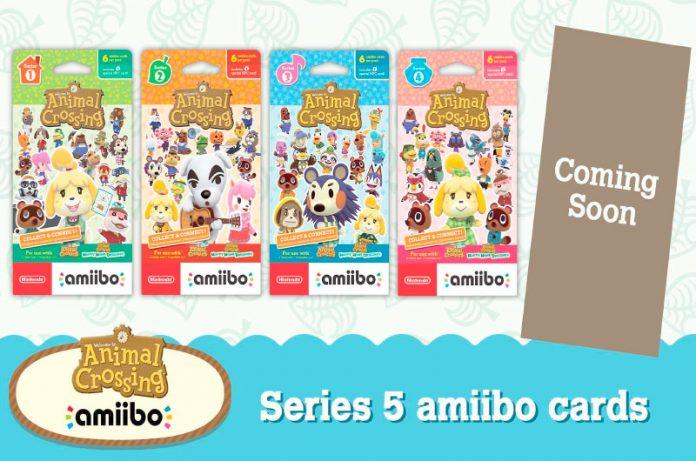 Animal Crossing recibirá las tarjetas amiibo de la serie 5