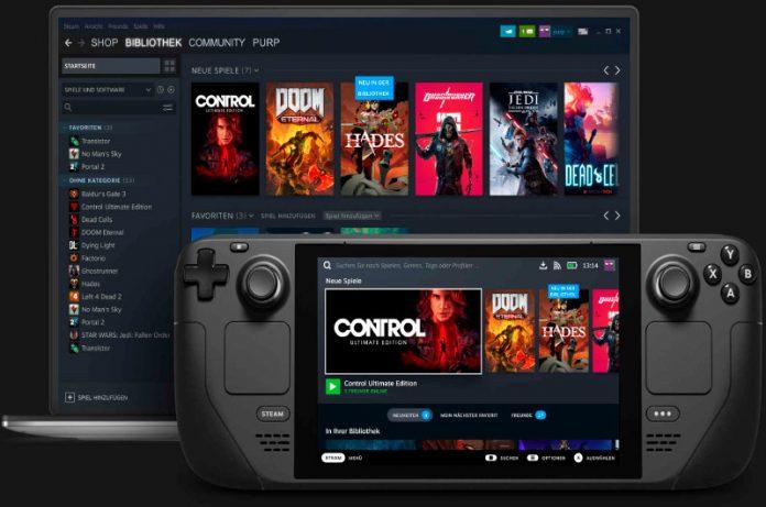 Steam Deck correria juegos de Epic Games gracias al EAC