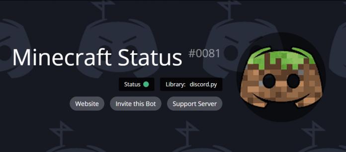 Minecraft Status#0081 es un bot que te dice el estado de cualquier servidor con comandos. ¡Además, te da estadísticas de jugador de hypixel!