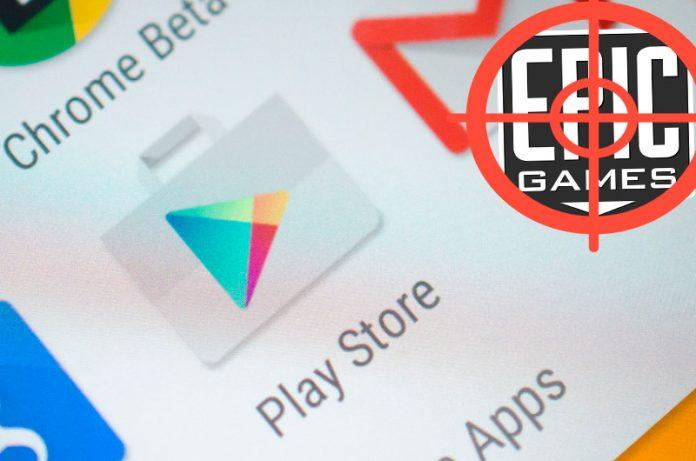 Google demanda a Epic Games por violar las políticas de venta de Google Play Store